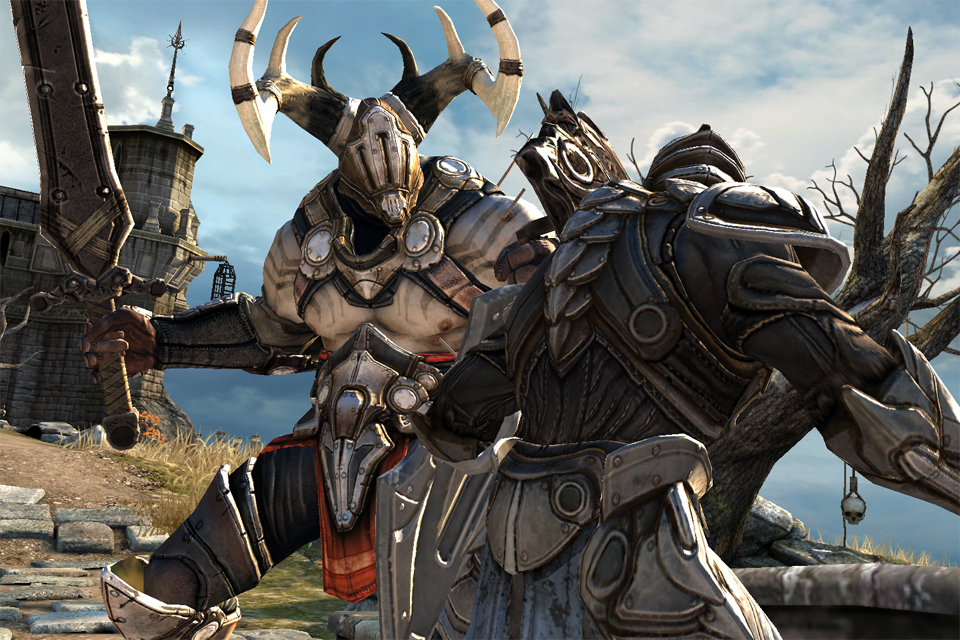 Infinity Blade iPhone, iPad Screenshot
